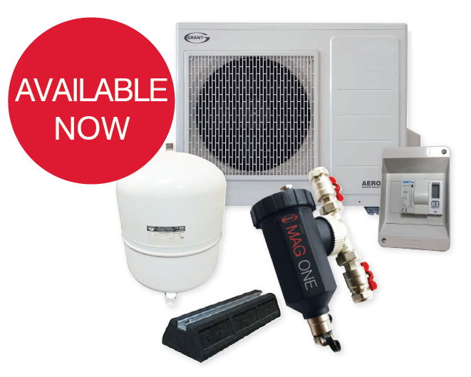 Grant UK now offer air source heat pump packs