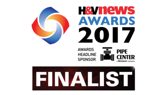 Grant VortexAir Hybrid is a finalist in the H&V News Awards 2017