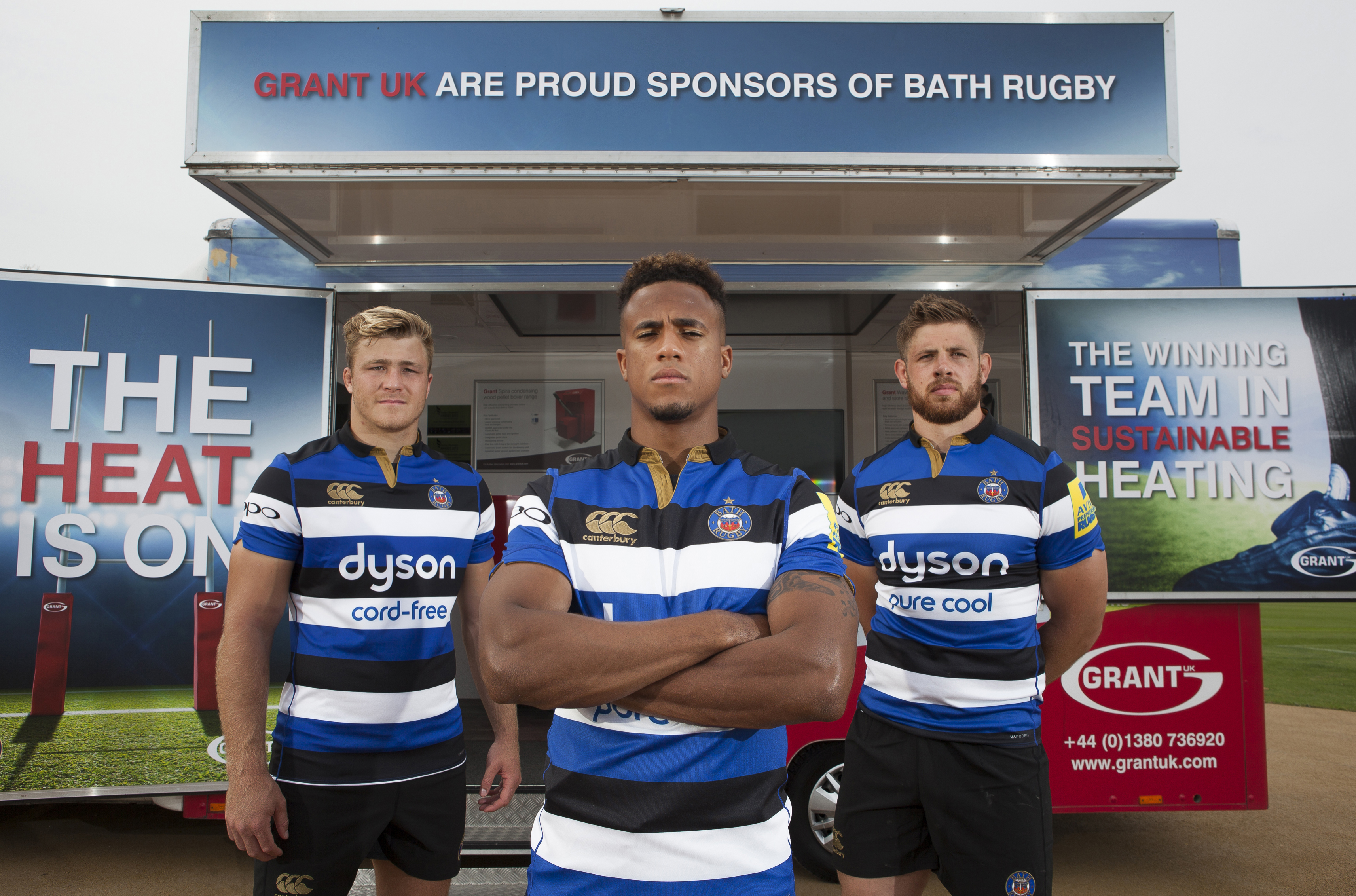 Grant UK turns up the heat for another season with Bath Rugby