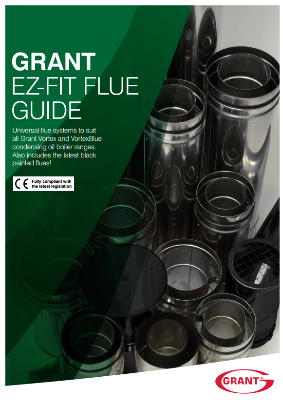 Grant UK extends black external fittings throughout EZ-Fit Flue System range