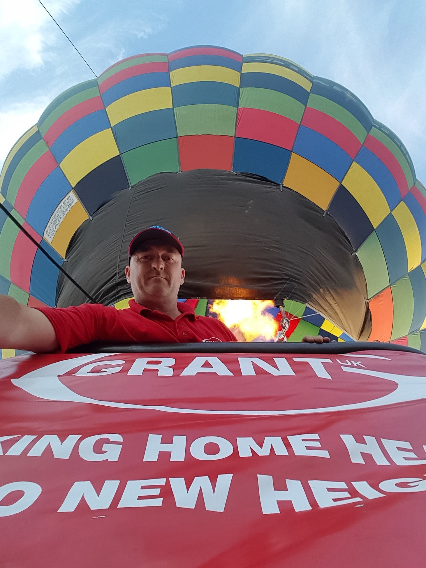 Grant UK takes home heating to new heights at Bristol Balloon Fiesta!