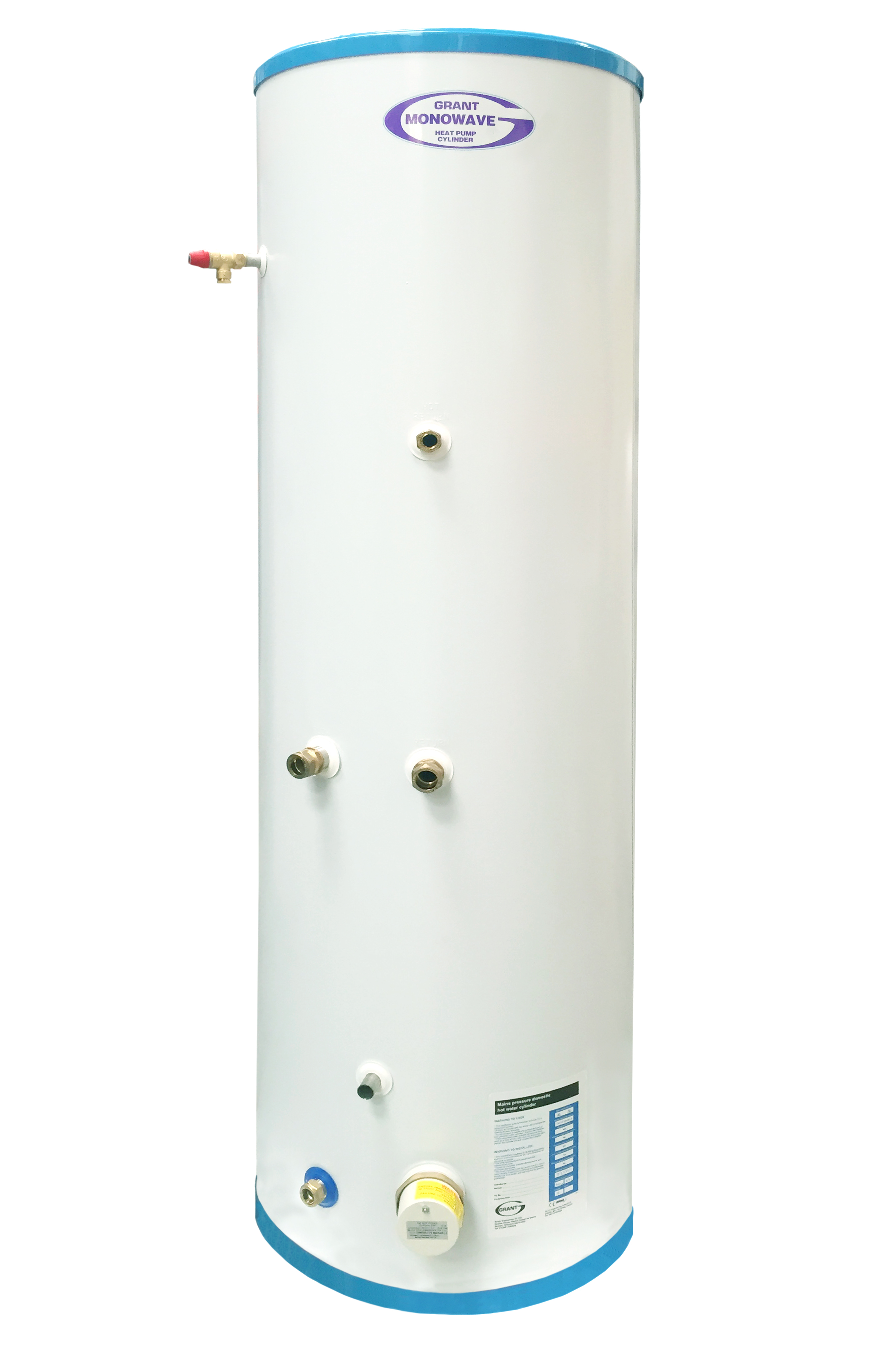 Grant introduces new ErP A-rated heat pump cylinder