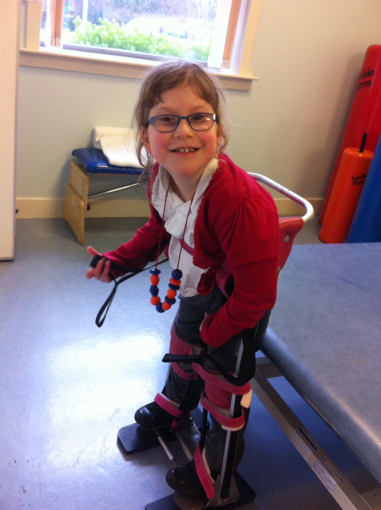 Grant UK makes donation to help eight year old Lucy enjoy the freedom of movement