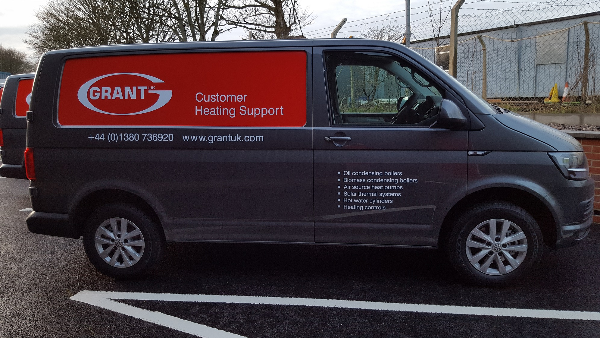 New fleet of Grant UK engineer vans now on the road!