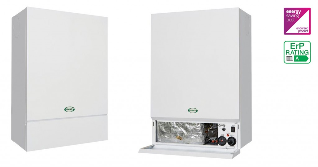 Grant leads the way with wall hung oil-fired boilers