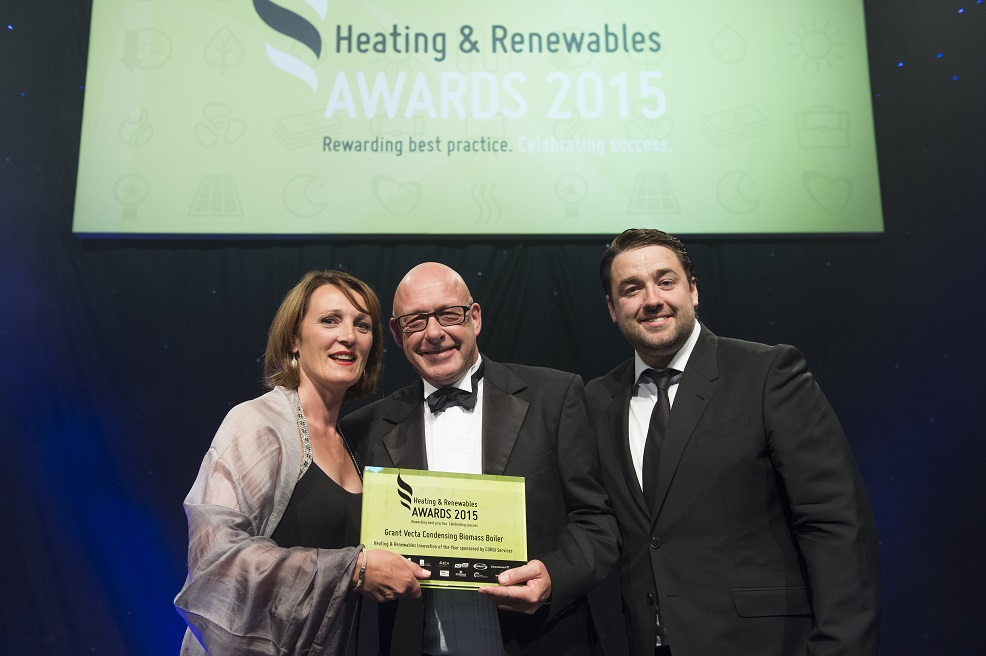 Grant UK scoops two major awards at the Heating and Renewables Awards