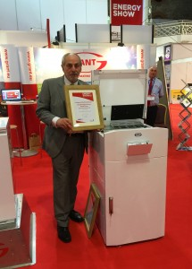 Grant Vecta wins top prize at SEAI Energy Show 2015