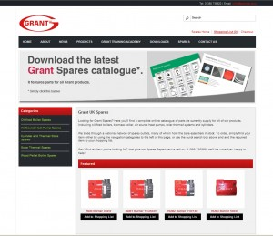 Grant Spares now featured online