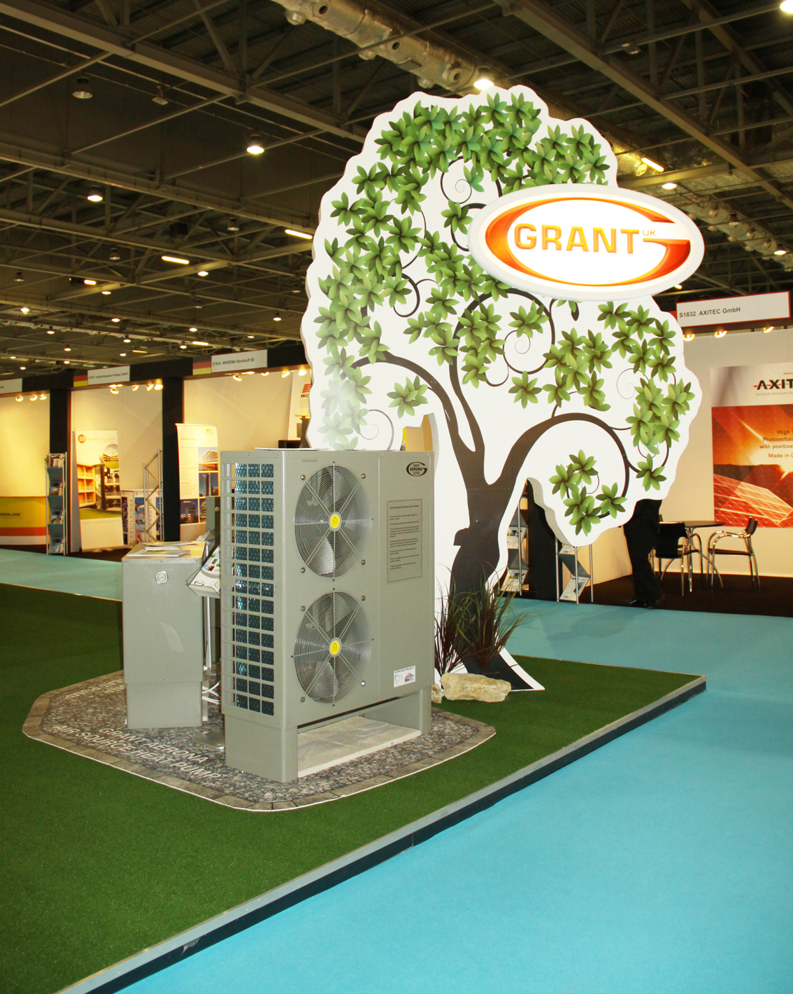 Grant products showcased at biggest Ecobuild yet
