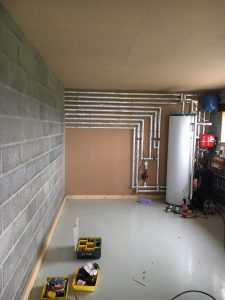 Aerona³ heat pump meets heating needs for new build family home in Carmarthenshire