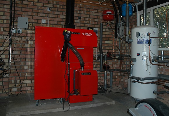 Spira biomass boiler takes residence at Steadings Park in Suffolk