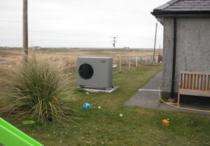Grant Aerona heat pumps aleviate fuel poverty for tenants in Western Isles