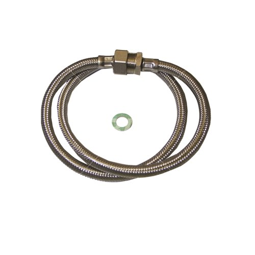 "Expansion vessel hose (¾"" BSPF x ¾"" BSPM)"