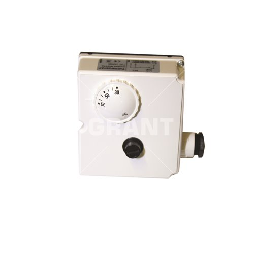 "Control / limit immersion thermostat 25°C/65°C adjustable & 80°C limit c/w ½"" pocket"