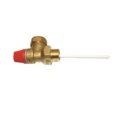 "Temperature & pressure valve (¾"" M x 22mm compression) - 90°C/7 bar
