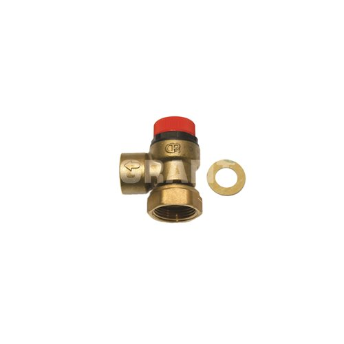 6 Bar Pressure relief valve (compression fitting)