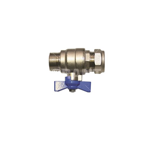 Primary Return Isolation Valve (Blue Handle)