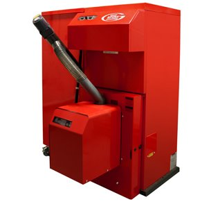 Spira condensing wood pellet boiler launched at the Seai Energy Show and first Spira boilers installed.