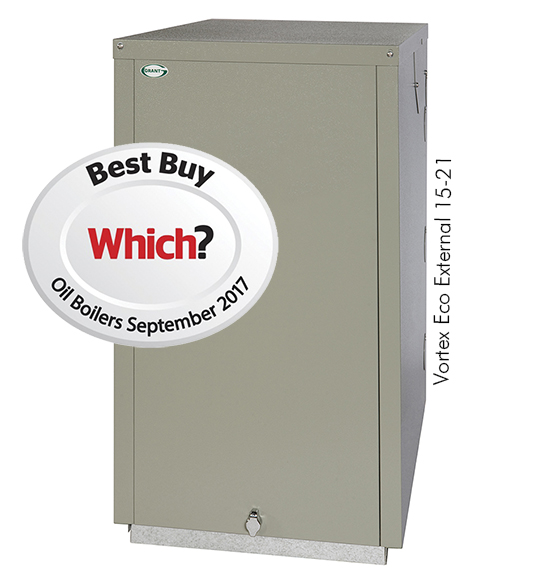 Which? Best Buy Vortex Eco 15/21kW External boiler installed at ...