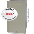 Which? Best Buy Vortex Eco 15/21kW External boiler installed at 1930s home in East Sussex