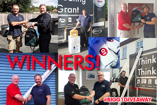 Grant UK's 'Big G1 Giveaway' – 2 months down, 4 months to go!