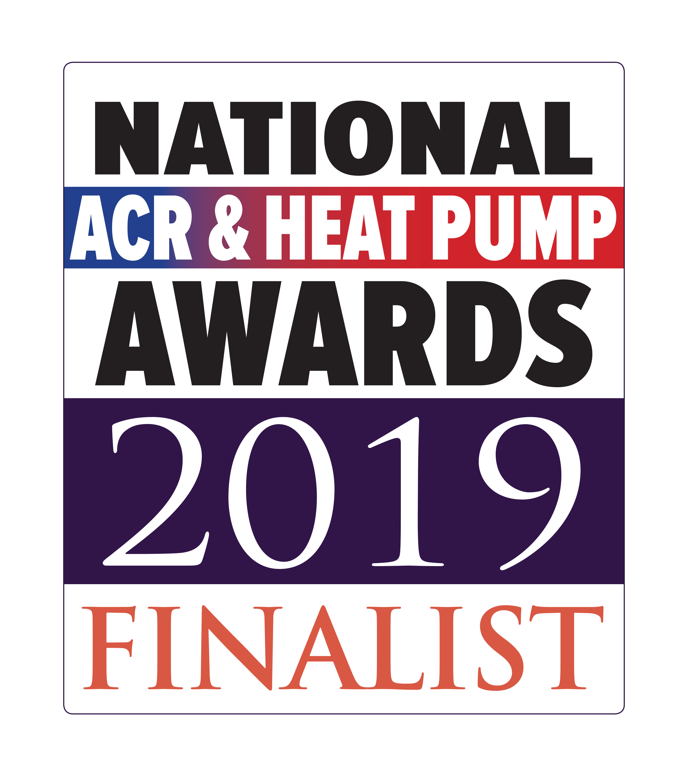 Grant UK's latest heat pump nominated at National ACR & Heat Pump Awards