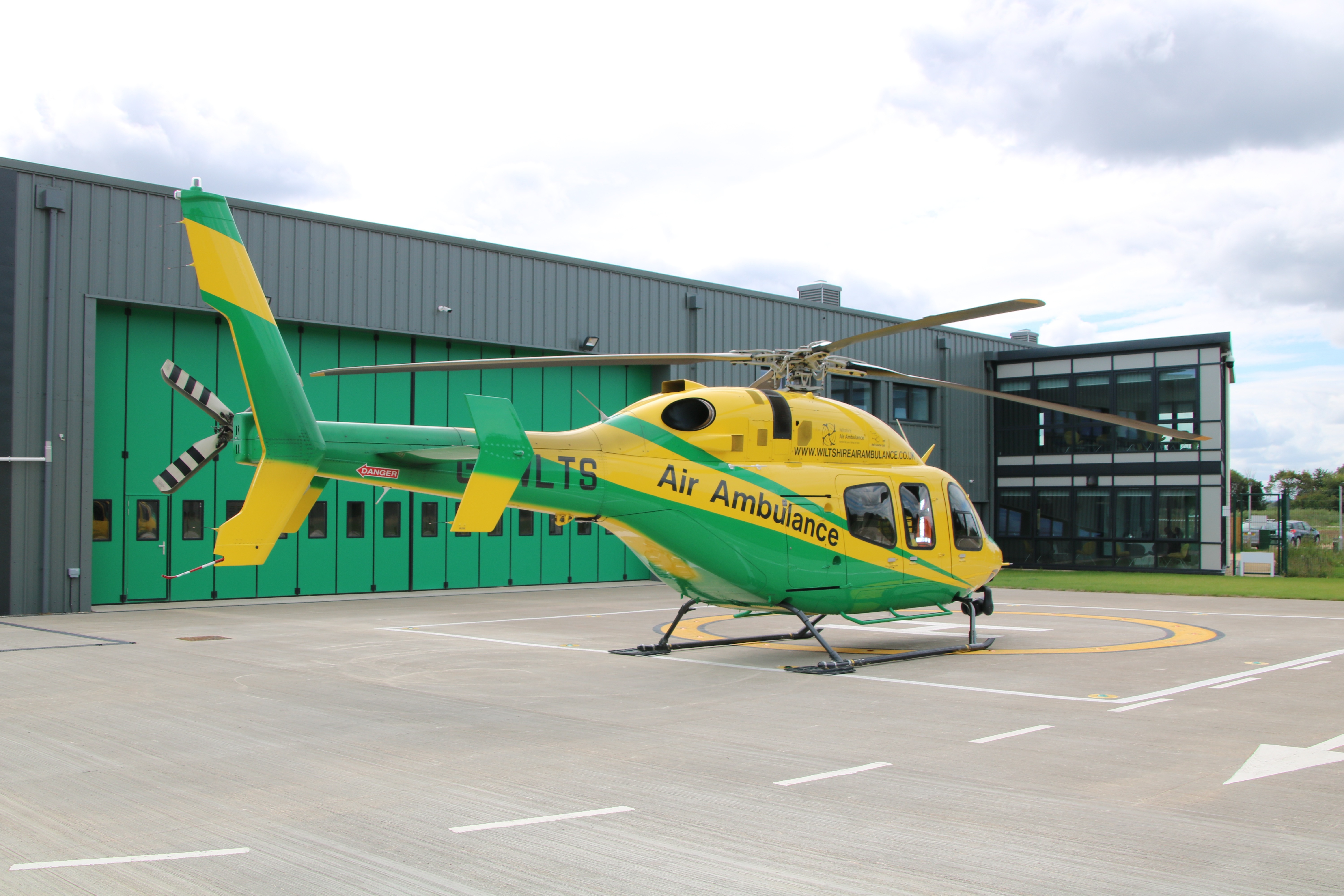 Wiltshire Air Ambulance announced as Grant UK's chosen charity for 2019