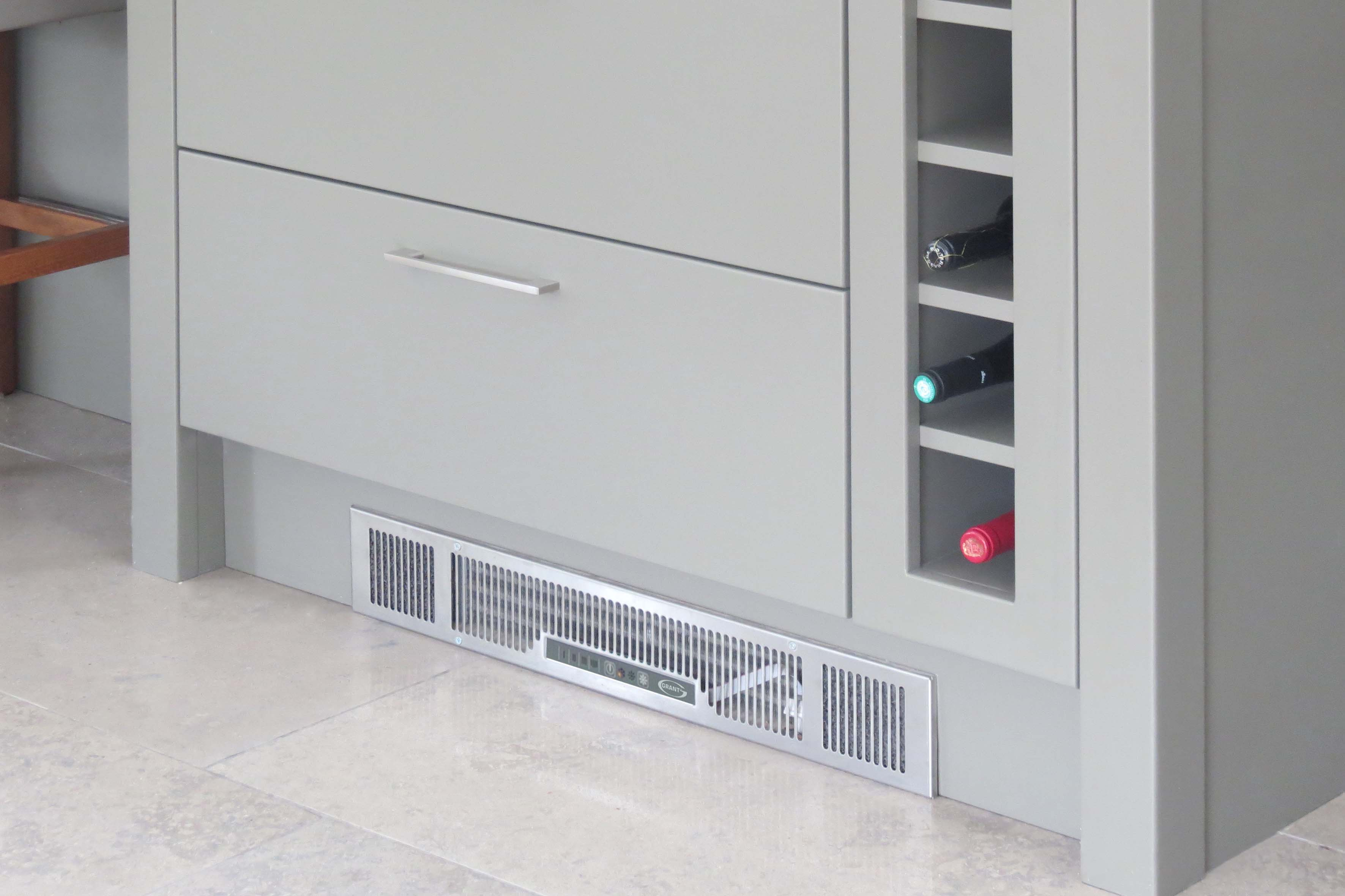 What are fan convectors?